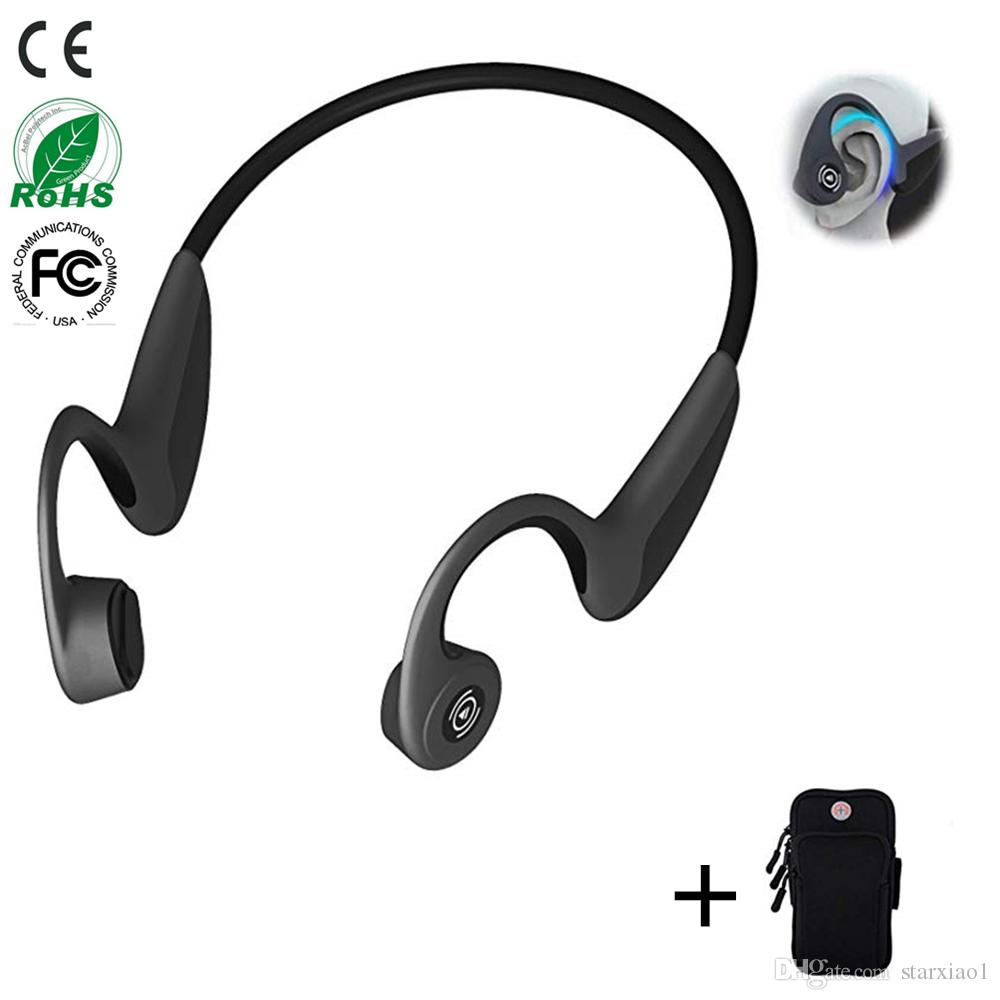 f45ff600cec Compre Bluetooth 5.0 S.Wear Z8 Auriculares Inalámbricos Auriculares De  Conducción Ósea Abierta Auriculares Deportivos Para Exteriores W / Mic  Auriculares ...