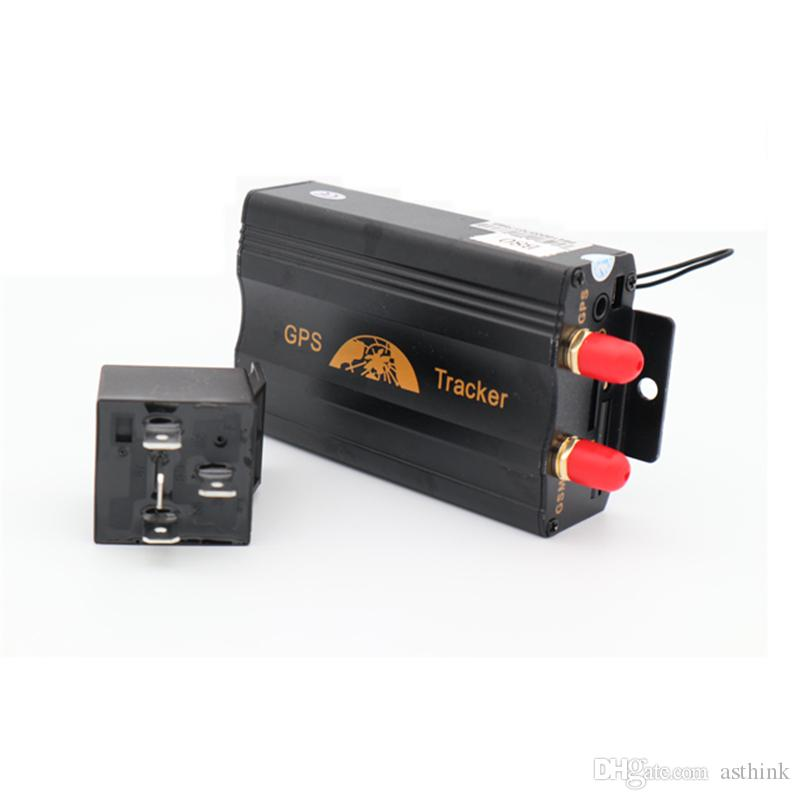 Car Tracking Device >> Tk103b Gps Tracker Car Tracking Device Crawler Retainer Coban Cut Off Oil Gsm Gps Locator Voice Monitor Shock Alarm Free Web App