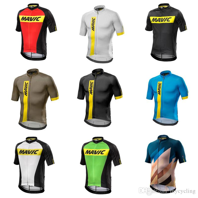 df6bcd959 Maillot Ciclismo Men Mavic Cycling Jersey 2018 Breathable MTB Bike Jersey  Short Sleeve Bicycle Shirt Racing Tops Factory Direct Sale C3007 Mountain  Bike ...
