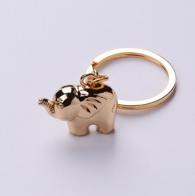 DHL Wedding Keychain Gifts Lovers Metal Keychain Elephant Style