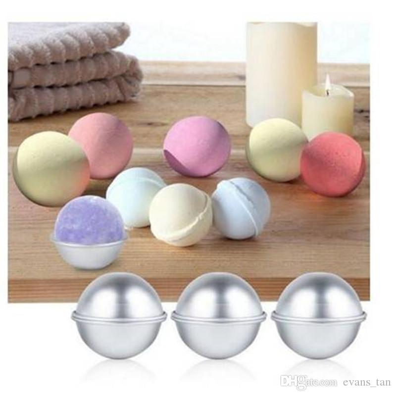 Dedicated 1pc Round Kitchen Bathroom Accessories Cake Moulds Baking Pastry Chocolate Plastic Sphere Bath Bomb Water Ball Spare No Cost At Any Cost Beauty & Health