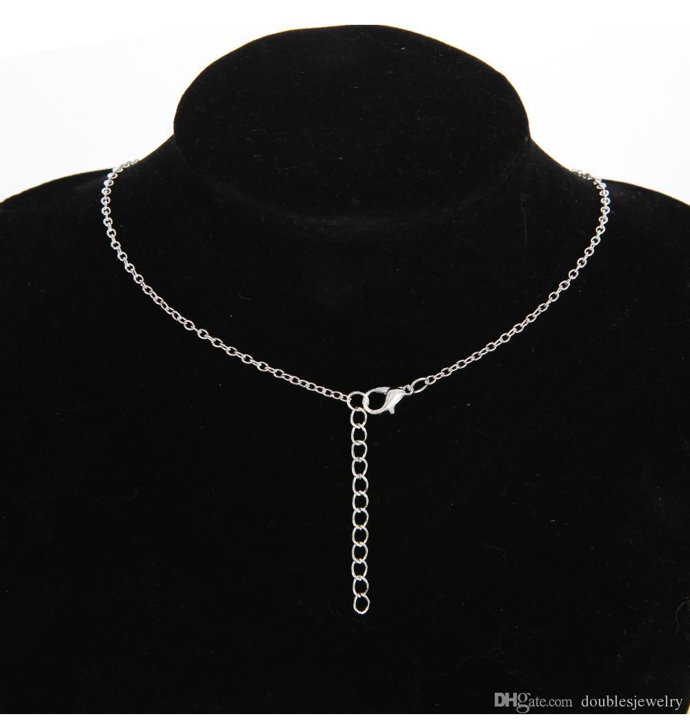 Новые украшения очаровательны собака коготь ключицы ожерелья досуг мода сплав материал, золото и серебро двойной цвет производитель прямая продажа