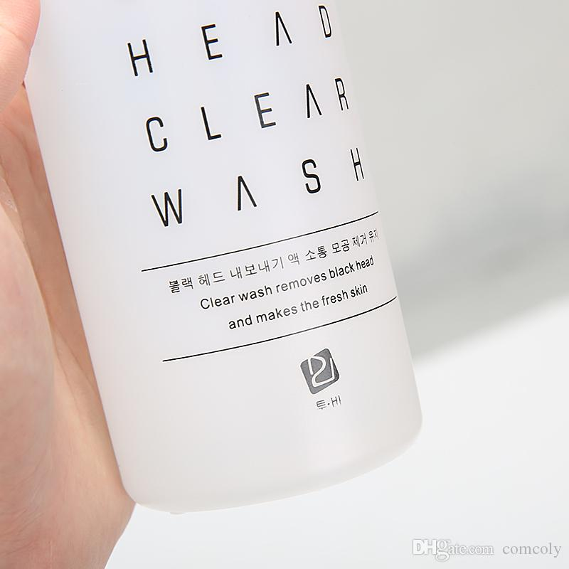 Solución limpia de 400 ml de Aqua / Solución concentrada de Aqua Peel Limpieza de cabeza negra Suero facial de Aqua Suero facial de hidra para piel normal