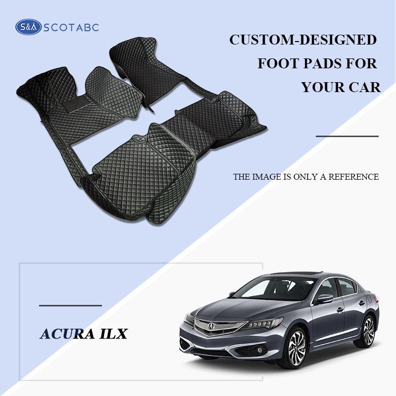 2018 Scotabc Custom Fit Car Foot Pads Leather Car Floor