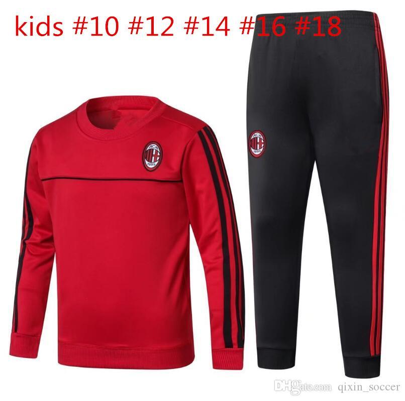 ensemble de foot AC Milan Enfant