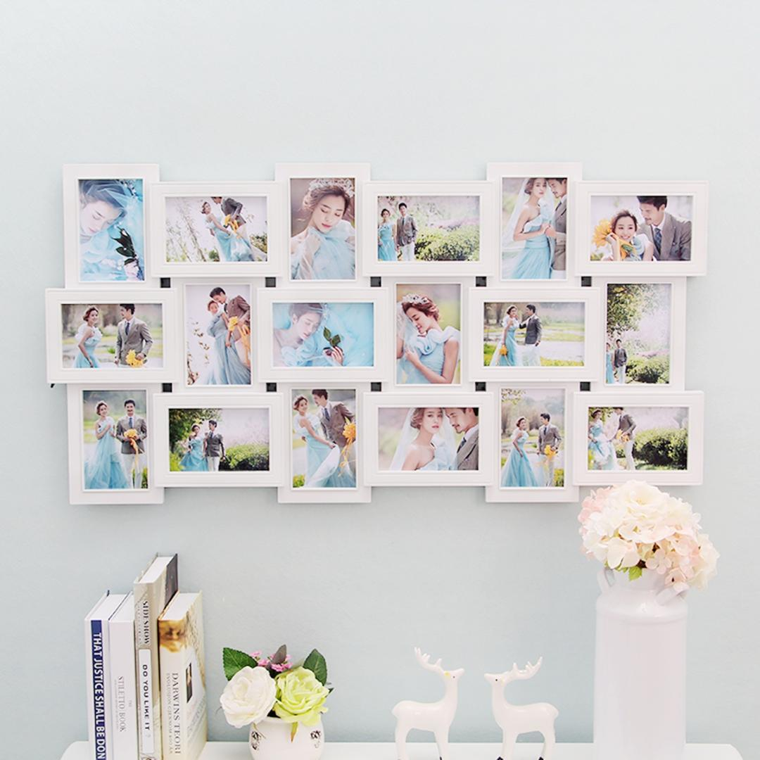 2019 18 Photos Frame Wall Decoration Multi Pictures Frame Collage