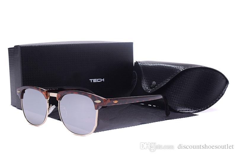 c44f390ece02 New Fashion Mens And Womens 3018 Sunglasses Half Frame Cheap Club ...