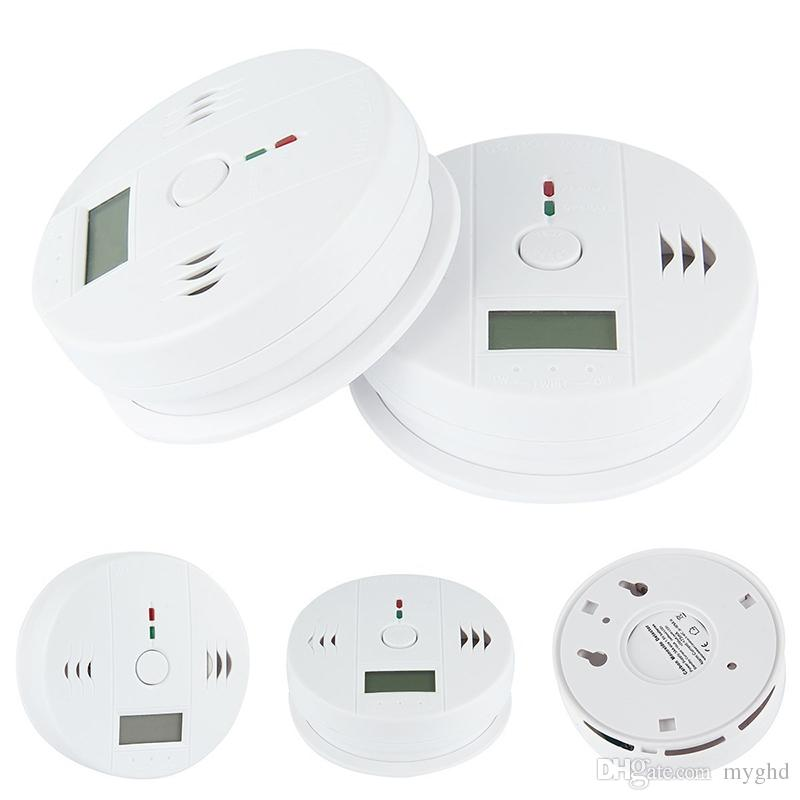 Fire Protection New 1pc Home Safety High Sensitive Lcd Co Carbon Monoxide Poisoning Sensor Alarm Warning Detector Tester Latest Fashion