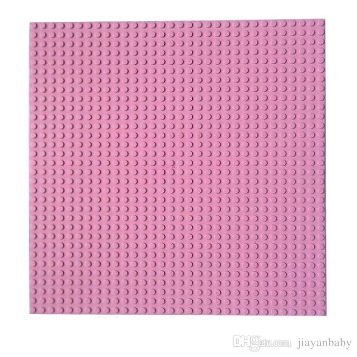 Building Blocks Base Plate small particle building blocks assembled puzzle baseplate 25.5x25.5cm DIY Toys Baseplate