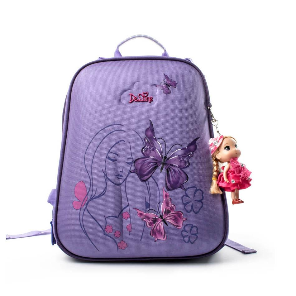06c35623540 Children S School Bags For Girls Butterfly Primary Grade 1 5 Waterproof Orthopedic  Backpack School Kids Satchel Mochila Escolar Popular Backpacks Brands Big  ...