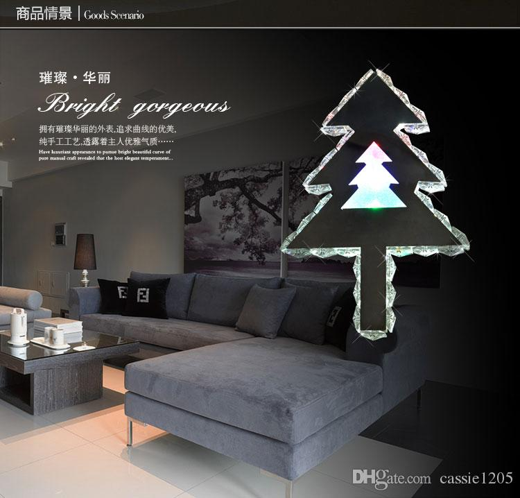 2018 new typle shining christmas tree wall lamp crystal wall sconce 2018 new typle shining christmas tree wall lamp crystal wall sconce led bedside lamp 230340mm from cassie1205 8403 dhgate aloadofball Choice Image
