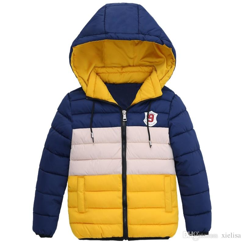 Jacken Wintermäntel Großhandel Wintermantel Dicke Blaue 2018 Kinderkleidung Xielisa Zipper Boy Kinder Qualität Winterjacke Hohe Jacke Jungen Von clF1JTK3