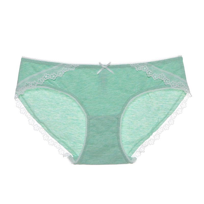 Cute Women's Panties with Butterfly Lace Underwear Women Transparent Soft Breathable Briefs Cheap Sexy Lingerie