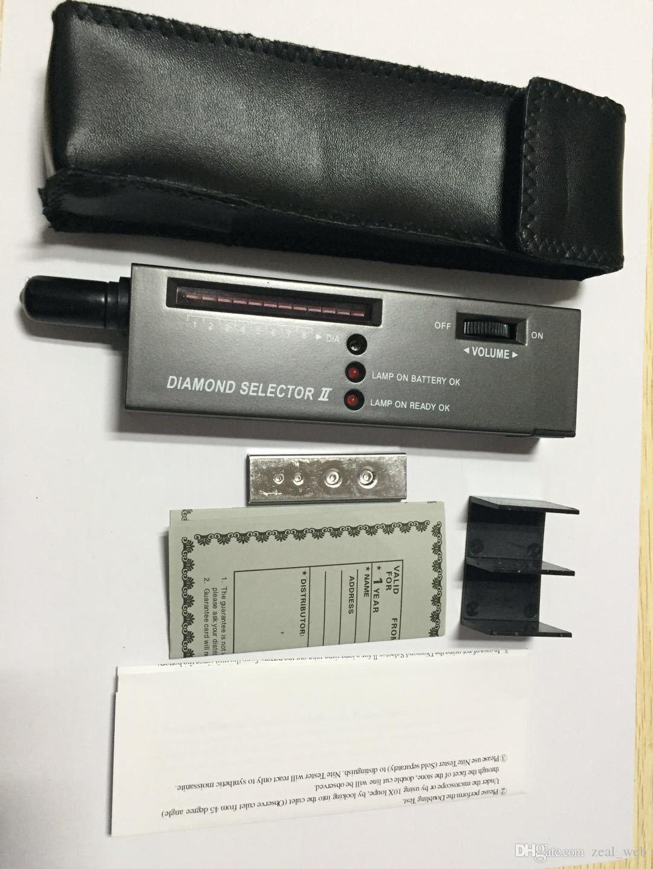 DHL V2 Diamond Selector Penna pietre preziose Tester gioielli Penna test di durezza della batteria