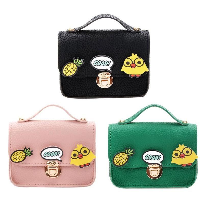 d25dee950222 Kids Chain Messenger Bag Cute Princess Baby Girls Sweet Lovely Clutch Purse  PU Leather Crossbody Bags Children Shoulder Bag Designer Backpack Children  ...