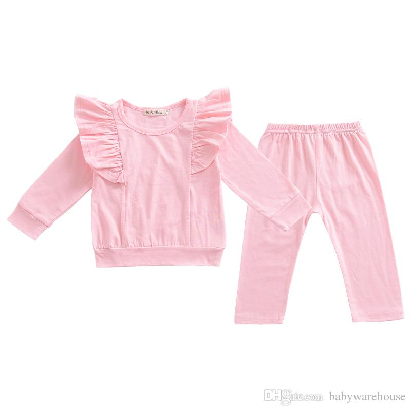 0c4ae9aac0ce New Baby Girls Clothing Sets Spring Autumn Toddler Girls Clothes ...