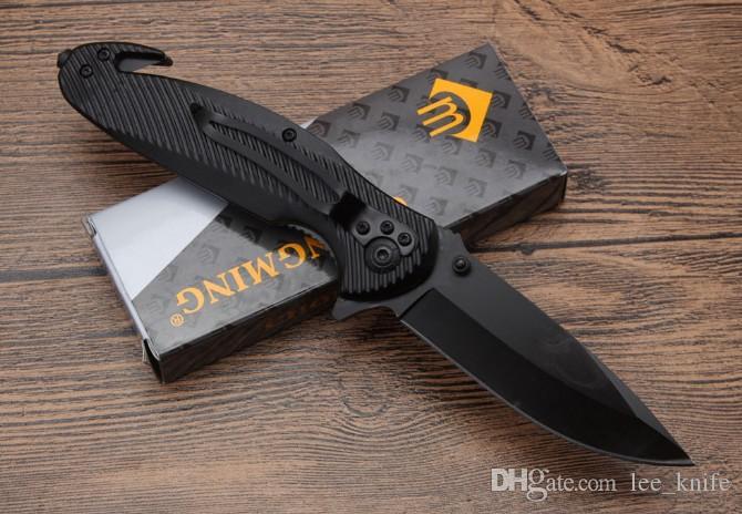 Recemmend CM80 rapido pieghevole coltello da caccia lama esterna lame di campeggio di sopravvivenza libera il trasporto coltello pieghevole