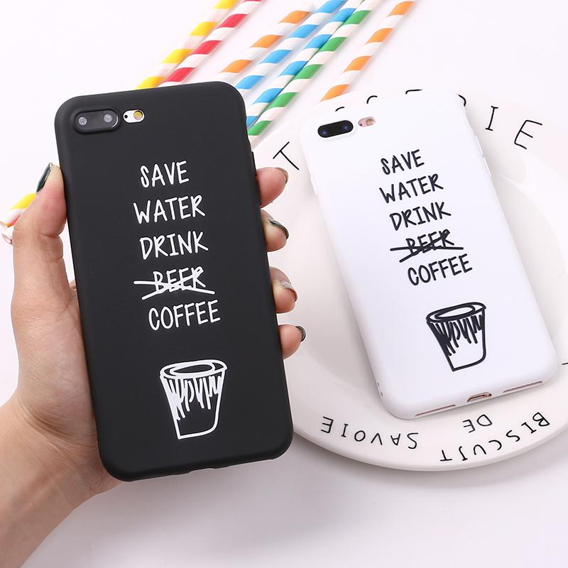 coque iphone 8 coffee