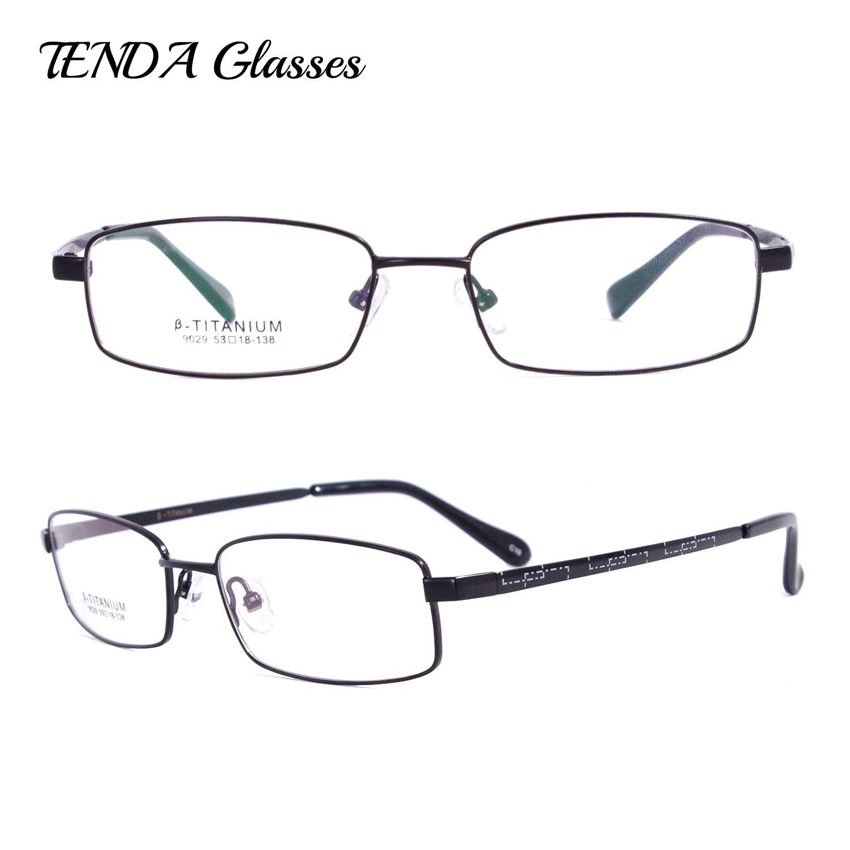 Großhandel Männer Flexbile Brillen Rahmen Oculos Titanium Eyewear ...