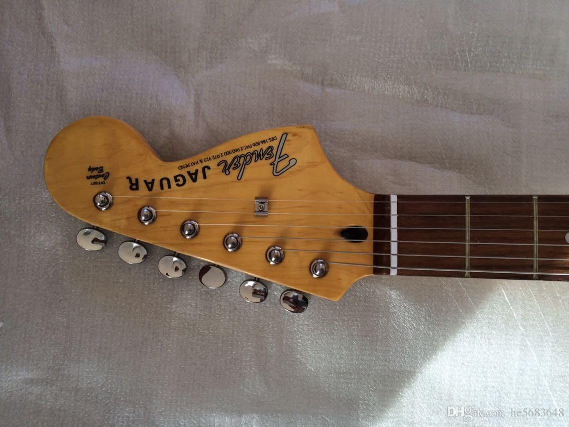 Yeni + fabrika + özel 6 Strings elektrik gitar siyah. klasik gitar enstrüman. Ücretsiz kargo 141001