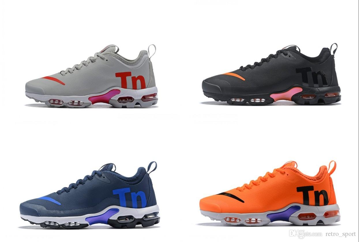 new products 0adeb 111c1 2019 Mercurial Tn Plus 2 Air Running Shoes Chaussures Maxes Orange Men  Shoes TNs SE World Cup Shoe Sports Mens Trainers Sneakers 36 46 Mens Sale  Cheap ...