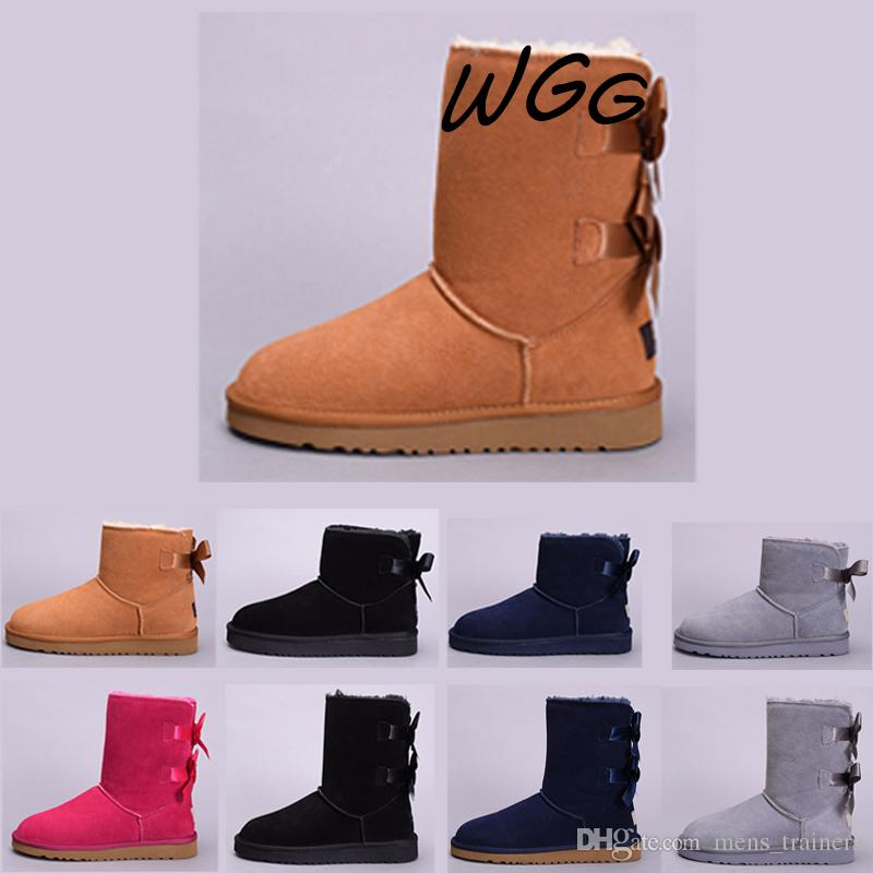 Acheter Bottes Hiver Ugg 2019 Designer Australie Wgg Boots De Neige r4Uqr