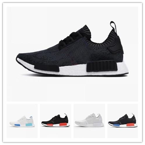 8e88f2252381d 2018 R1 Shoes Discount Cheap Japan Red Gray NMD Runner R1 Primeknit ...