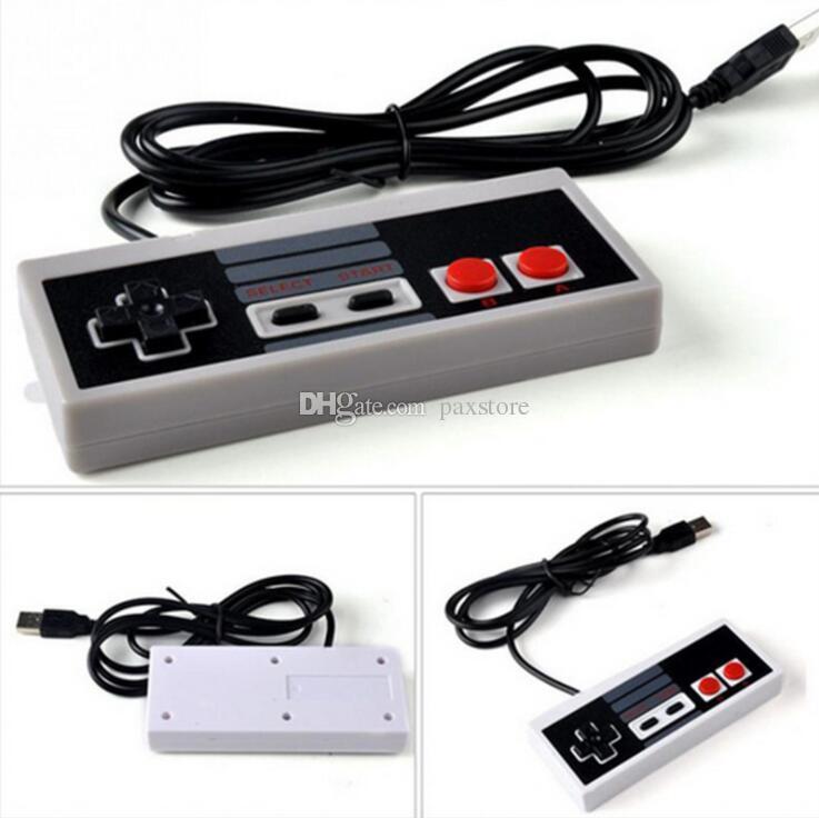 Kabelgebundener Gamecontroller für NES 620 500 mini Classic Edition Kabelgebundene Controller Spielekonsolencontroller verkabelt DHL Free