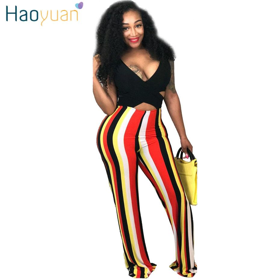 6c44c3bf8dd Wholesale Striped Sexy Jumpsuit Deep V Neck Summer Overall Backless Party  Boot Cup Long Pants One Piece Rompers Womens Jumpsuit Online with   45.04 Piece on ...