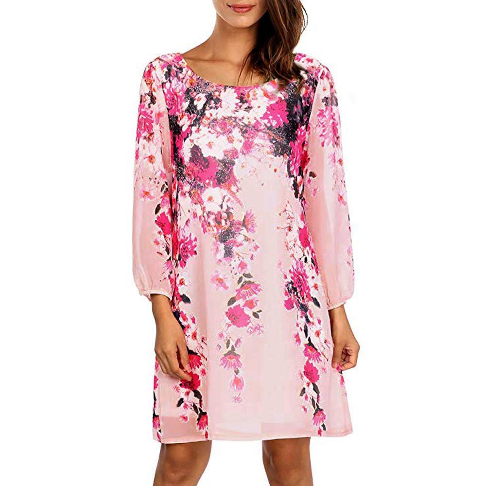 415d1f74637 Womail Autumn Dess Womens Long Sleeve Beach Mini Dress Paty Dress Casual  Saida De Praia Jurken Vestidos Mujeres 21.JULY.25 Plus Size Cocktail Dresses  Long ...
