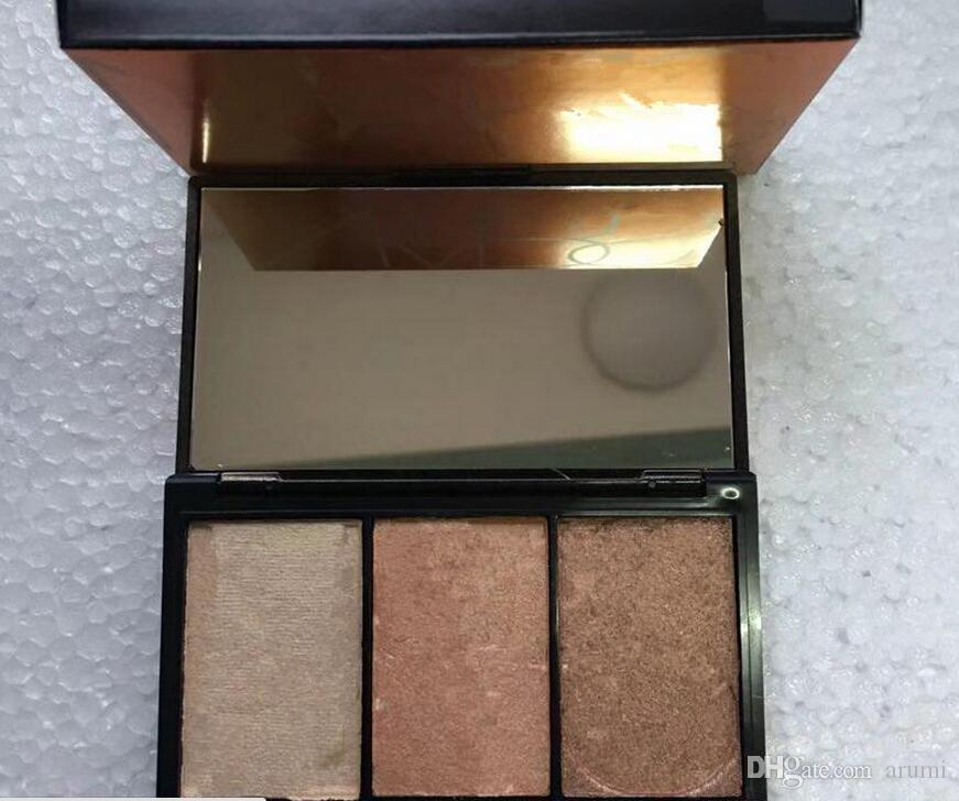 Hot new makeup palette i highlighter palette 4 style Bronzers Highlighters Blush Illuminatore DHL nave