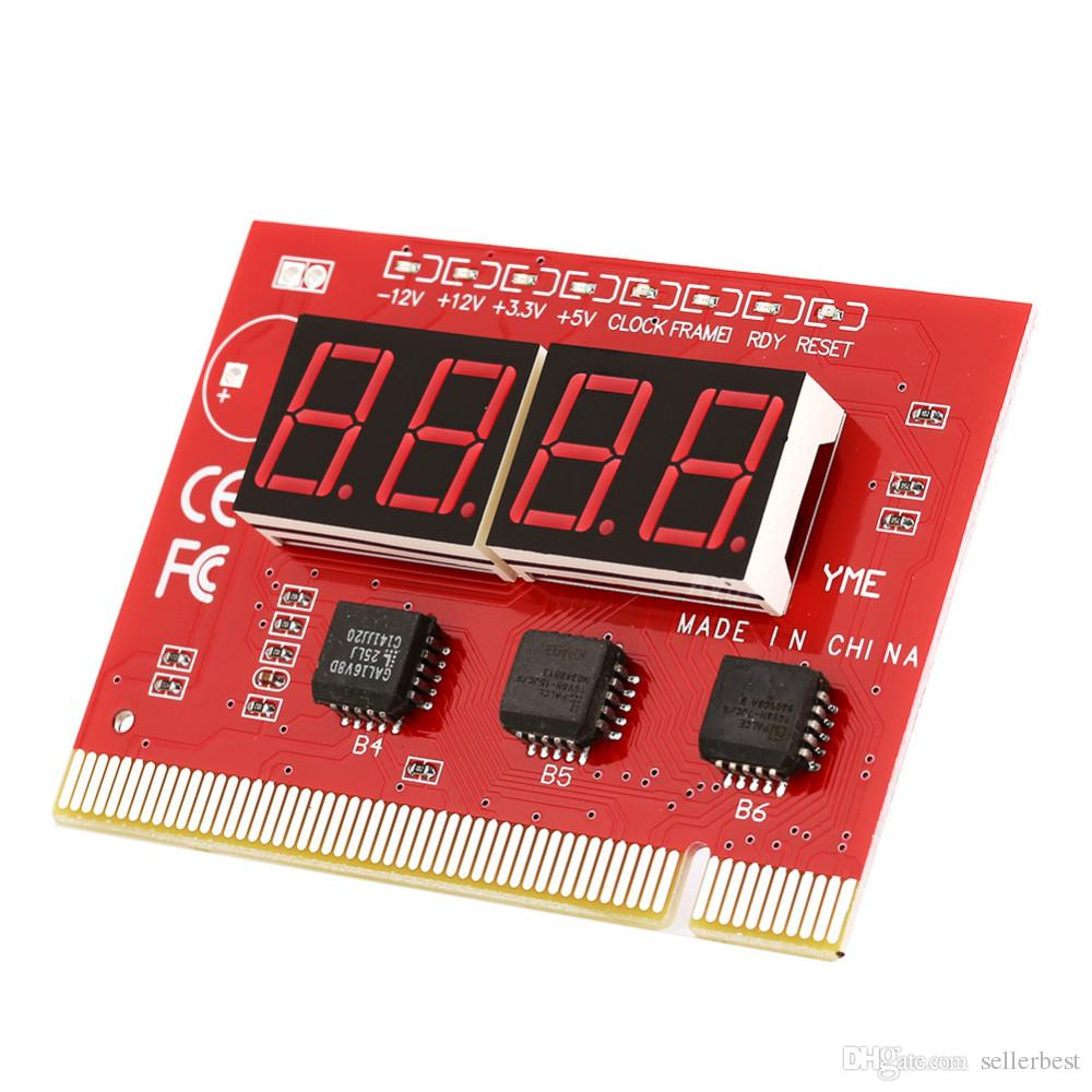 PC Desktop Computer Motherboard LED 4 Digit Analysis Diagnostic Test POST Card PCI High Quality