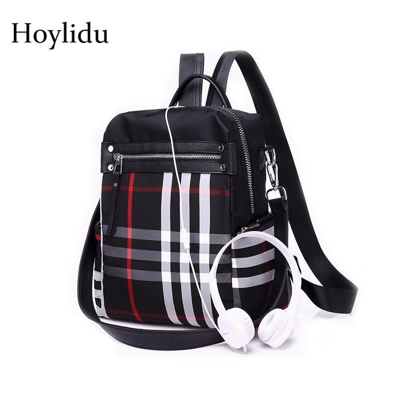 2019 Fashion Waterproof Oxford Laptop Backpack Female Bagpack Women School  Bags for Teenage Girls Travel Large Capacity Anti Theft Backpacks Fashion  Bags ... 42d81ef111daf