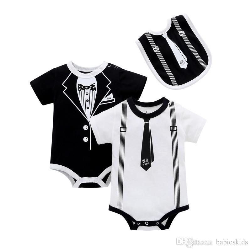 Baby Feeding Infant Toddler Newborn Bib Black White Gentleman Bow Tie Soft Cotton Saliva Towel Kids Burp Cloths Boy Bibs