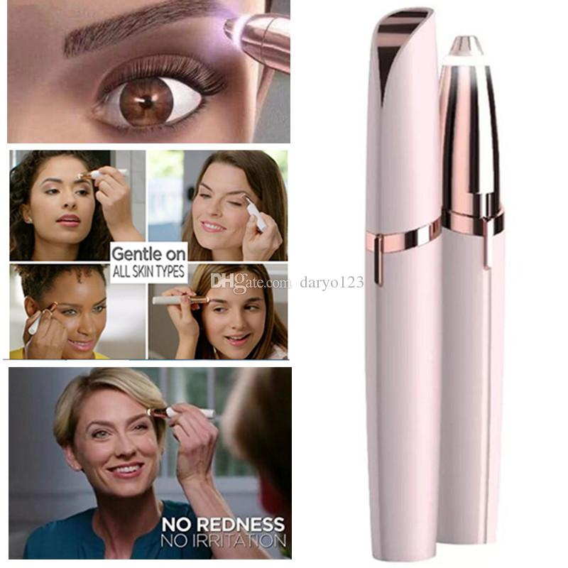 Electric Eyebrow Trimmer Women Eyebrow Shaver Instant ...