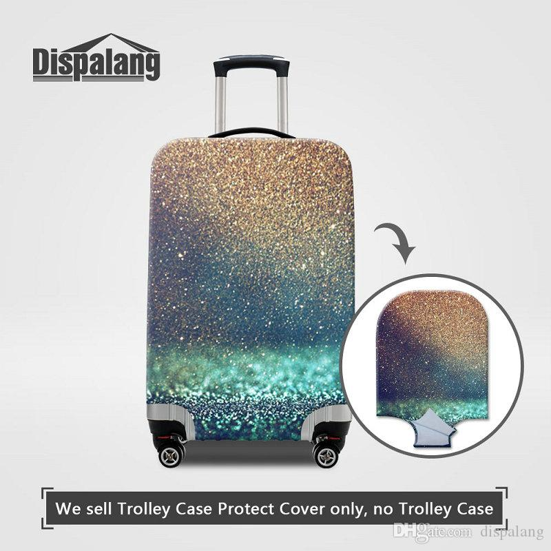 b3adddd532 2019 Universe Space Print Case For A Suitcase Galaxy Sands Cool Elastic  Dust Women Travel Bag Luggage Protective Covers For 18 30 Inch Wholesale  From ...