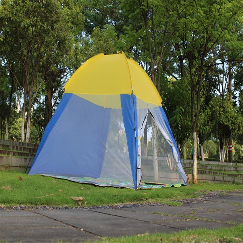 170T POLYESTER Breathable C&ing Tent Portable Durable Outdoor Beach Tent With Net Yarn Tents Uk Dome Tents From Lookest $85.51| DHgate.Com & 170T POLYESTER Breathable Camping Tent Portable Durable Outdoor ...