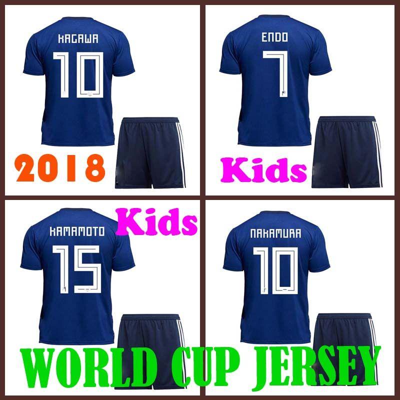 Kdsi 2018 World Cup Japan Soccer Jersey 2018 Kdsi Japan Home Blue Soccer  Shirt  10 KAGAWA  9 OKAZAKI Football Uniform 2018 World Cup KAGAWA Kdsi  Shirt ... 28b4684b5