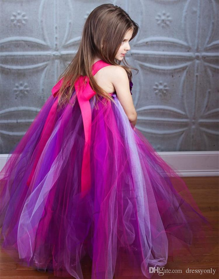 Cute Halter Girls Dresses Wedding Party Compleanno Homecoming Formal Dress 2018 Nuovi arrivi C27