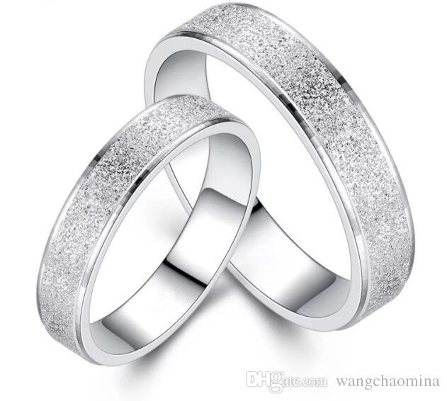 Platinum Plated Stainless Steel Abrazine Arc Couple Love Symbol Ring