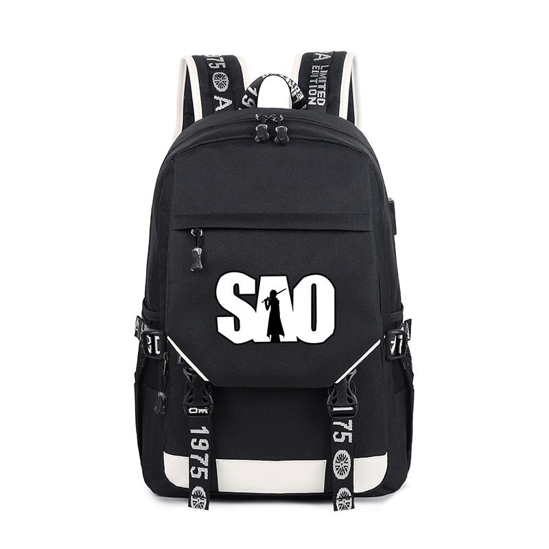 a3e5d58c2f01 Anime Good Quality Sword Art Online Multifunction Backpack Laptop Bag For  Girls And Boys Students Fashion Bag Travel Backpack Cute Backpacks From  Carryleft
