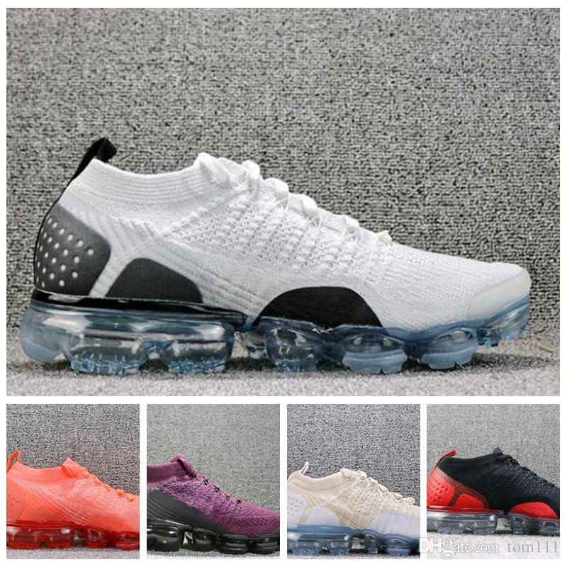 Sale New 2018 Air Cushion Vapormax 2.0 Mens Running Shoes For Men Sneakers  Fashion Athletic Sport Vapor Hiking Jogging Outdoor Run Shoes Running Shoes  ... 85584859e