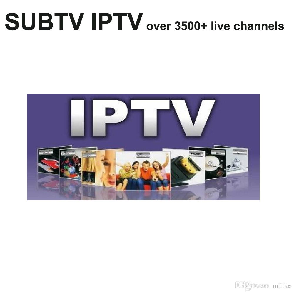 Subtv IPTV HD channels Russian Albania French Arabic Argentina Persia  Pakistan Belgium Brazil Latinos for android phone tv box M3U MAG250