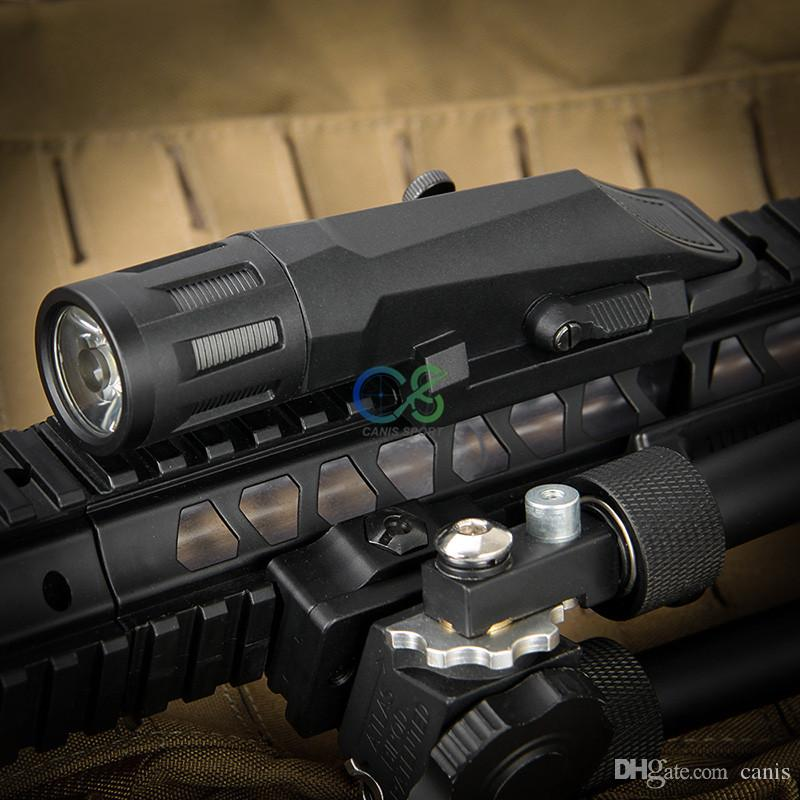 Nuovo Arrvial Tactical Flashlight SD-66 Tactical Light Black Tan Colore la caccia di tiro libero CL15-0123