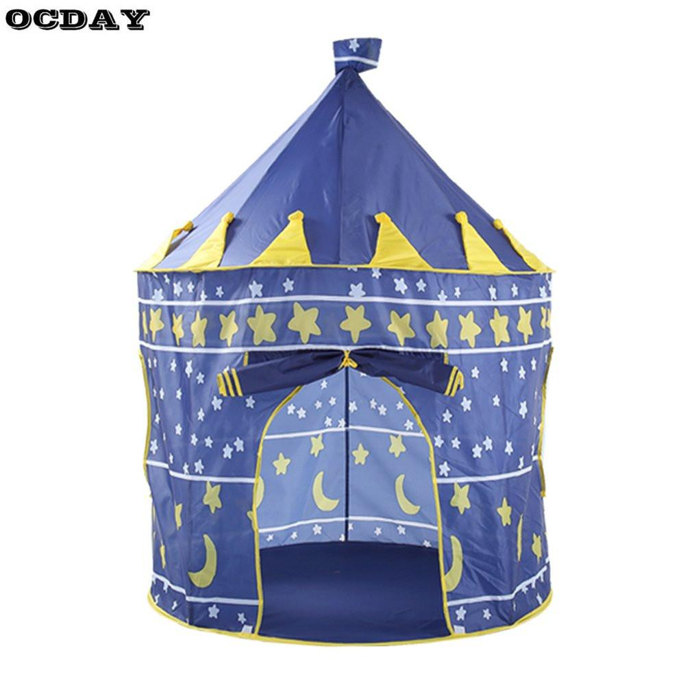 36e4ebf0c Kids Toy Play Tent Portable Foldable Tipi Prince Folding Tent Boys Girls Castle  Cubby Play House Kids Gifts Outdoor Toy Tents Indoor Tents For Girls Cheap  ...