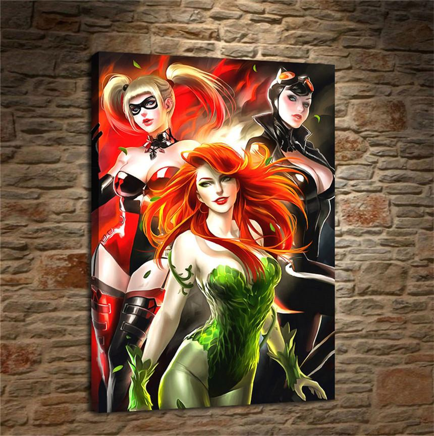 Is poison ivy dating harley quinn