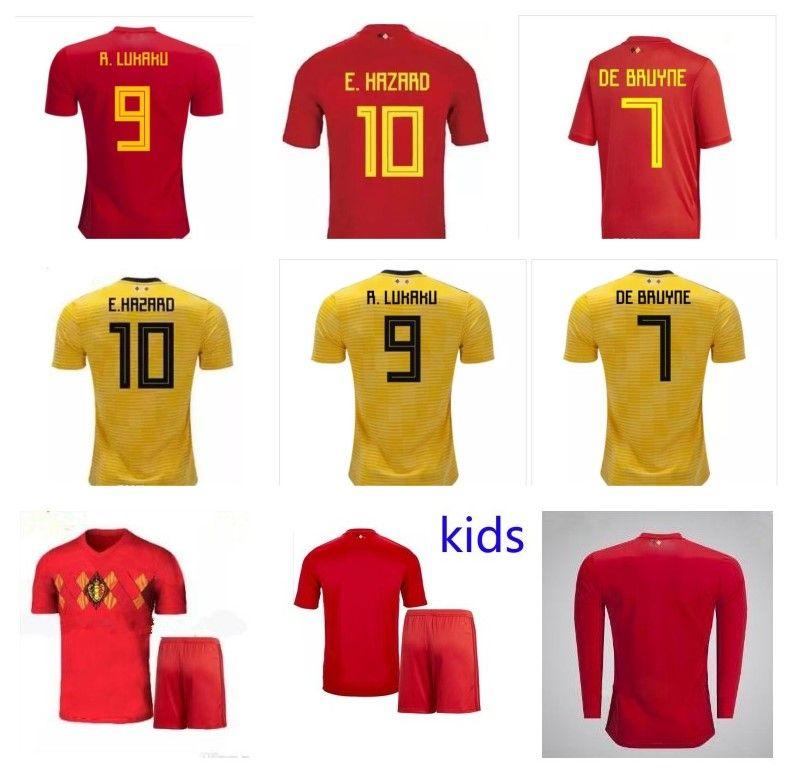 Whosales Discount Belgium 2018 World Cup Soccer Jerseys bbf40925c0102