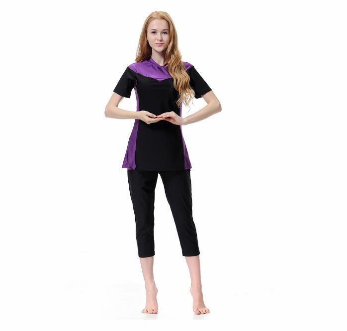 Selling Muslim bathing suit Arabia Middle East conservative swimming suit, gosha pink yoga suit,kanye west ripndip fitness suit