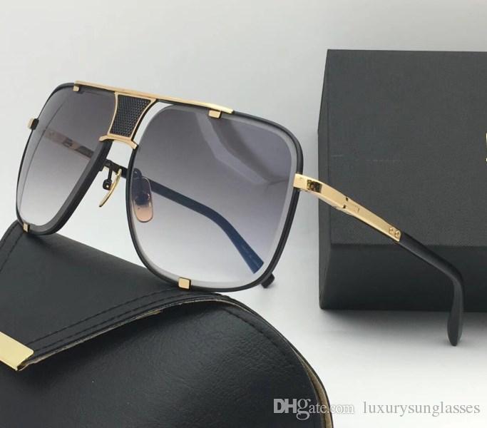 245b155f377 Selling Fashion Designer Sunglasses Metal Square 18K Gold Frame Punk ...