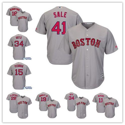 50 Mookie Betts Boston Red Sox Jersey 19 Jackie Bradley Jr. 28 JD ... 96974ee62